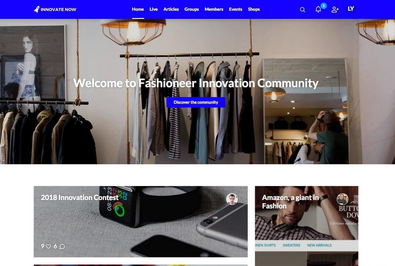 Communauté Open Innovation