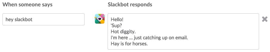Auto-message Slack