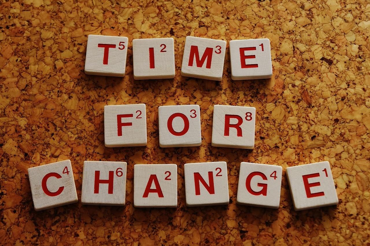 Temps Pour Un Changement De Nouvelles Façons Lettres