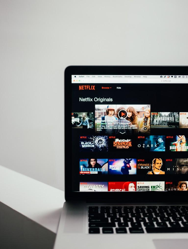Écran Netflix