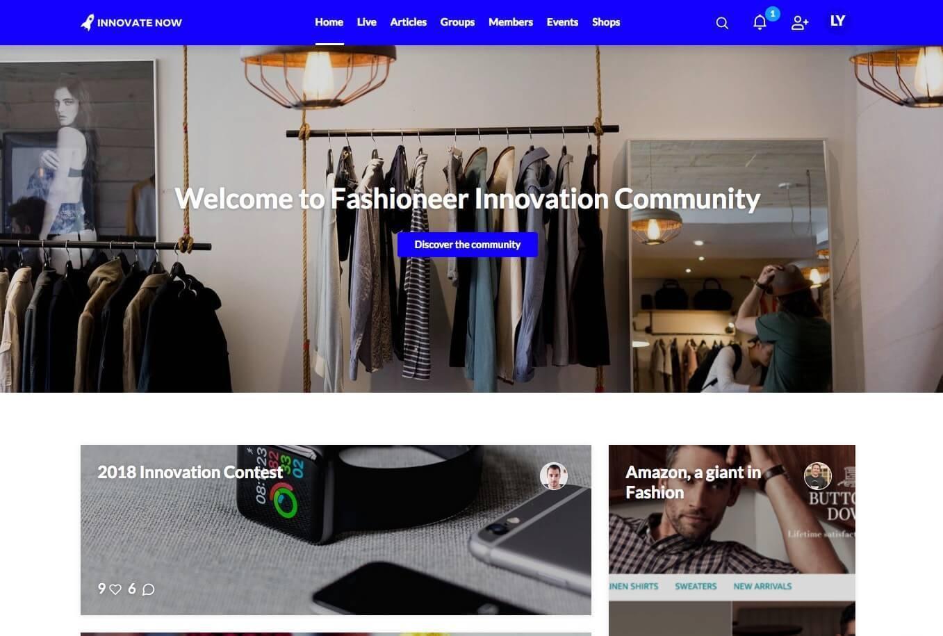 Communauté Innovation