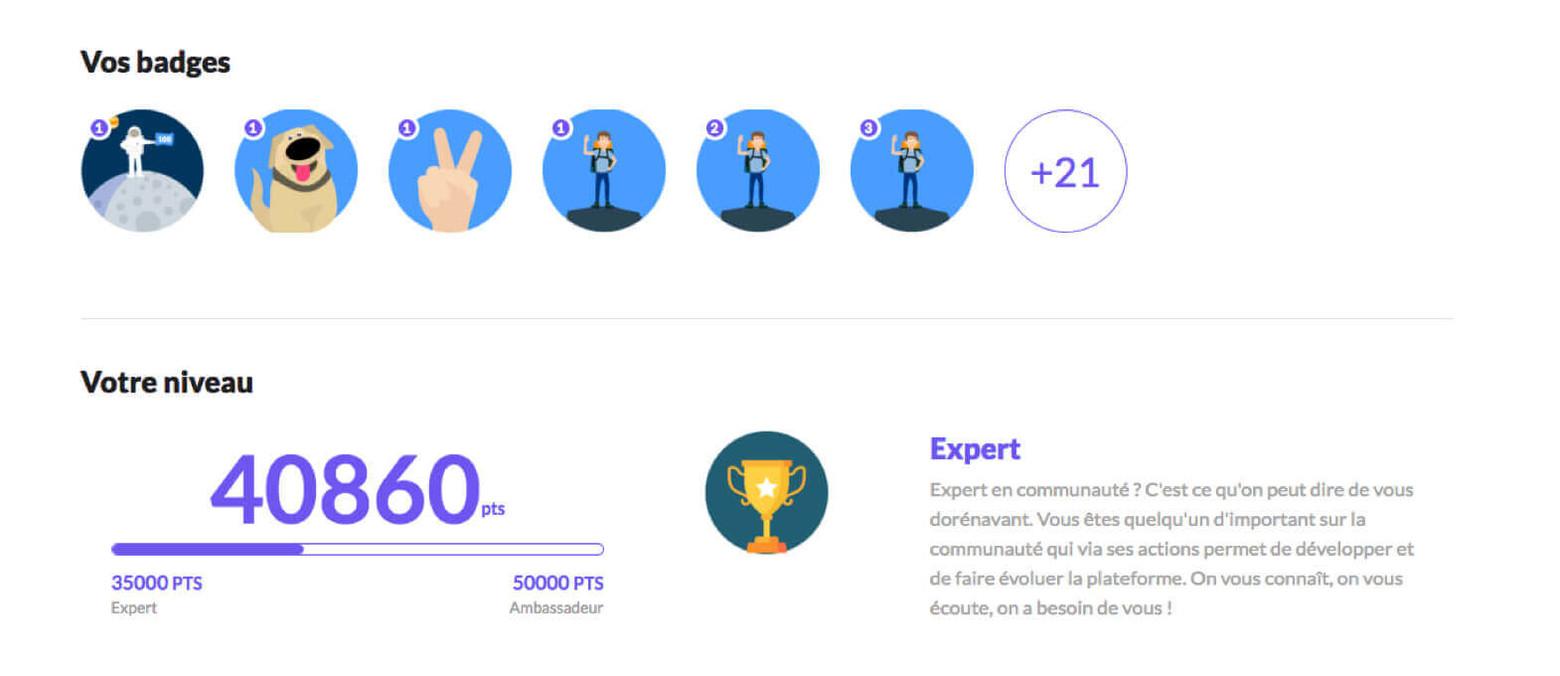 niveau de récompenses starbucks programme de fidélité app