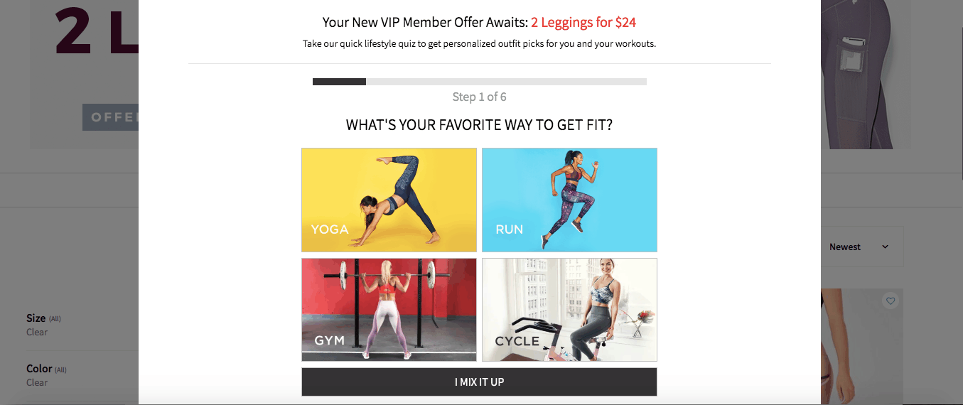 fabletics homepage site