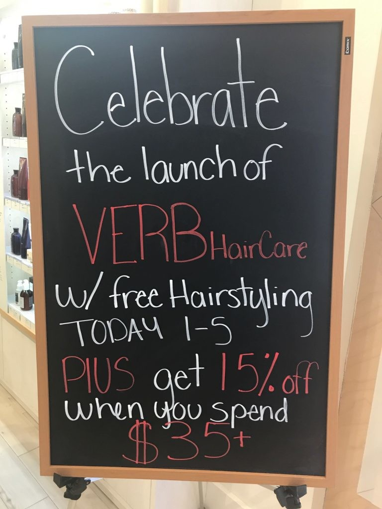 lancement verb hair care birchbox