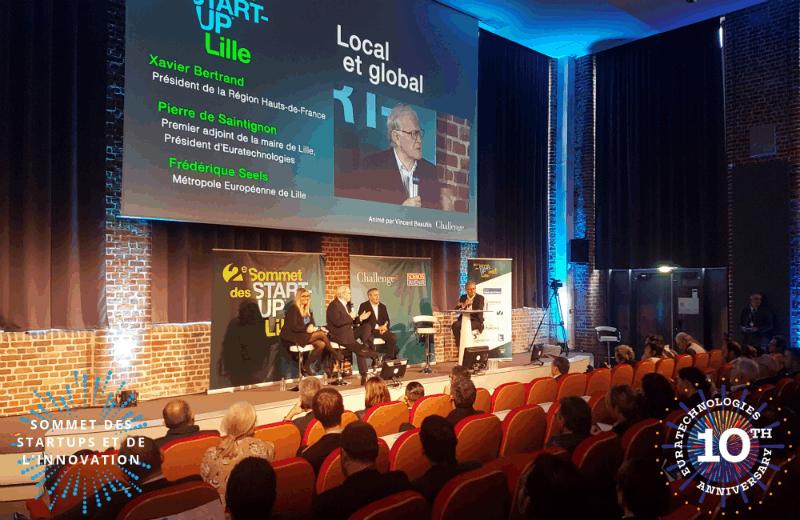 Sommet des startups et de l'innovation de Lille euratechnologies anniversaire 10 ans