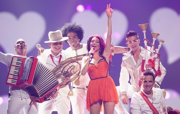 groupe de musique chante Eurovision